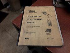 Yale STL-1347 Pulsomatic SCR Training Manual (1983)