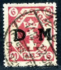 DANZIG DIENST 1922 26b gestempelt TADELLOS BEFUDN BPP 450€(S8493
