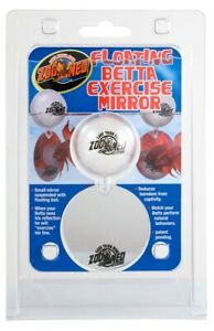 Zoo Med Labs Ornament Betta Floating Exercise Small Mirror Reduces Boredom