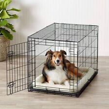 large folding dog crate -new!