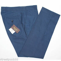 Relco Mens Stay Press Blue Tonic Trousers Two Tone Sta Prest Retro Mod Skin Ska