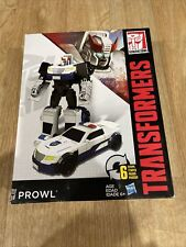 Prowl Transformers Generations Cyber Battalion Series 7 inch new