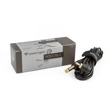 Precision 8' Long Right Angle Gold-Plated RCA Cable