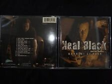 CD NEAL BLACK AND THE HEALERS / HANDFUL OF RAIN /