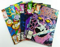 Marvel SILVER SURFER (1989-90) #22 27 28 31 34 THANOS FN to VF LOT Ships FREE!