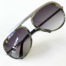 vintage RODENSTOCK Junge Linie J255 sunglasses silver West Germany 002 medium
