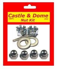 Castle & Dome Nut Kit - Yamaha TDM850