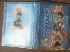 • New Cardcaptors Card Holder • Sealed Blue Plastic Anime Japanese Cartoon