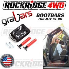 Bootbars (Foot Pegs) by Grabars RED Jeep Wrangler YJ TJ LJ 87-06 USA MADE