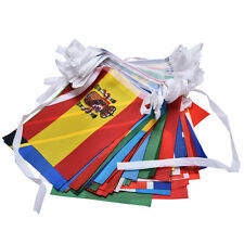 Countries String Flag 25M International World 82ft Bar Party Bunting 100pcs TOCA