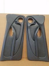 1993-2002 Firebird Trans Am Door Panels Gray Leather Pair LH RH 95 96 97 98 99