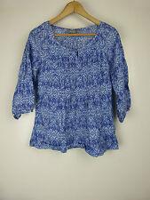 Sussan Linen Regular Size 3/4 Sleeve Tops for Women