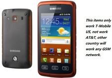 """3.65"""" Samsung Galaxy Xcover S5690 Orange (T-mobile) Unlocked Android Smartphone"""