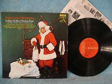 Arthur Fiedler, Pops Goes Christmas, RCA Red Seal LSC 3324, 1972, Boston Pops