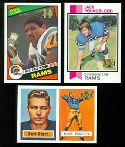 2001 Topps Archives REPRINT NFL FOOTBALL 1 TO 178 SEE LIST