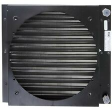 Universal Air Con Condenser With Shroud 350 x 310mm Oring Fittings- Heavy Duty