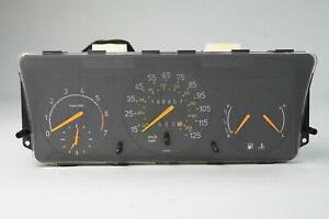1987 - 1993 SAAB 900 SPEEDOMETER INSTRUMENT CLUSTER GAUGE W CLOCK 196K MILES OEM