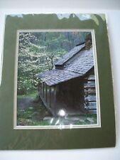 New Noah Bud Ogle Cabin Smoky Mountains Photograph RICK ORR Art Matted HTF GSM