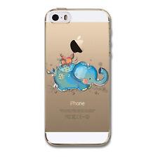 Kritzel iPhone 5 5s SE Schutz Hülle Cover Soft Case Tasche Slim Bumper #423