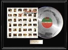 John Prine Prime Prine Framed Lp Silver Metalized Vinyl Best Of Record Album