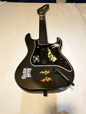 Guitar Hero Kramer Wireless Controller PS2 PS3 W/Strap, No Dongle, Tested, Works