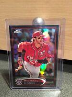 2012 TOPPS CHROME MICHAEL MORSE  REFRACTOR CARD SP#WASHINGTON NATIONALS MLB