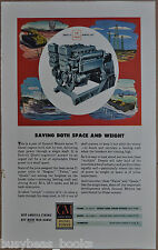 1945 GM Diesel advertisement, General Motors Series 71 Twin Marine Unit