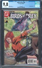 BIRDS OF PREY (1999) #58 CGC 9.8 NM/MT WHITE PAGES~ BATMAN APPEARANCE