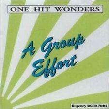 One Hit Wonders-A Group Effort (1950s/60s) CD case broken