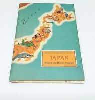 Book Japan Around the World Program American Geographical Society Pamphlet Vtg