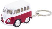 Original VW Bus Schlüsselanhänger T1 Bully Bulli Anhänger Taschenanhänger ROT