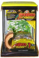 Zoo Med Creatures Habitat Kit - Terrariums for Invertebrates and Amphibians