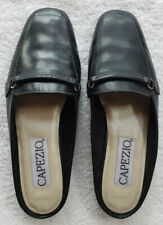 "Capezio ""Jenna""120789 Women's Slip On Casual Leather Loafers US Size 6M Black"