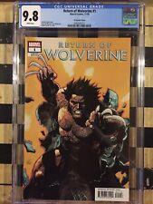 Return of Wolverine #1 CGC 9.8 - Yu Variant Cover
