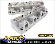Aeroflow Bare Alloy Cylinder Heads Ford V8 FE 390 427 428 170cc AF95-0390