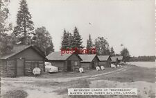 c1950s BEAVERLAND Cabins Marten River North Bay Ont. Canada, to Mary Sprainger
