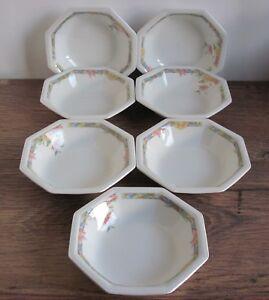"7 x Johnson Brothers Katrina Small Bowls (approx 5"")."