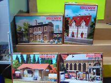 Vollmer HO 5618 , 3843 , 5155 , 3519 4 Gebäudebausätze im Set