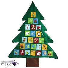 Feltro Verde Tessuto A Parete Albero Di Natale Avvento Calendario