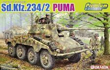 Dragon 1/35 scale WW2 GERMAN SD.KFZ 234/2 PUMA (PREM ED)