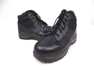 Genuine Magnum Hi-Tec Midnite Plus II Police Tactical Black Ankle Boots C8 MGI2