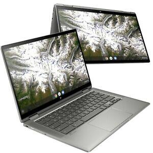 """HP Chromebook x360 14c-ca0003na 14"""" Laptop Pentium 6405U 4GB 64GB 133U4EA #G"""