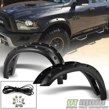 2009-2017 Dodge Ram 1500 Bolt On Rivet Pocket Fender Flares 10 11 12 13 14 15 16