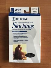 Truform Classic Medical-Style Stockings 20-30 Compression 8865BL-L