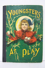 YOUNGSTERS AT PLAY McLoughlin Bros. New York ©1905, illustrated, #2160