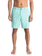 "Quiksilver Shortie Chino 18"" Shorts - Men's - 33, Agate Green (GJY0)"