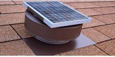 Solar Power Exhaust Attic Fan Roof Mount Air Ventilation 5 Watt Panel Vent 12 V