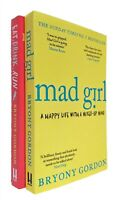 Bryony Gordon 2 Books Mad Girl + Eat Drink Run Non-Fiction Funny True Life New