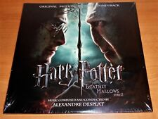 HARRY POTTER & THE DEATHLY HOLLOWS PART 2 - MOTION PICTURE SOUNDTRACK - 2xLP