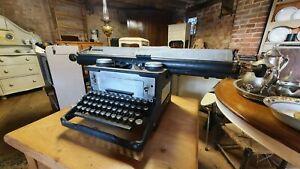 Rare large format Vintage retro Typewriter industrial prop shop